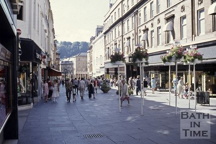 Union Street, Bath looking south, c.1970s