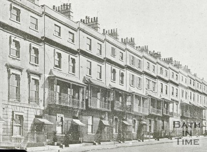 Raby Place, Bathwick Hill, Bath, c.1930s?