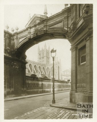Bath Abbey view from York Street, c.1910s