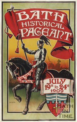 Poster for the Bath Historical Pageant, 1909