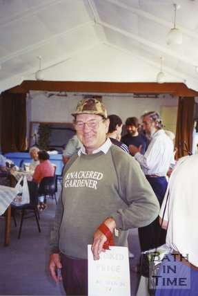 Ivan Mealing At Pro-Bypass Meeting, Church Hall, Batheaston, 1994