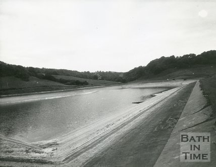 Monkswood Reservoir, St Catherines, Bath, 1972
