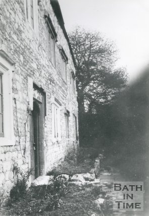 Logwood House, on The Island, Twerton, Bath, c.1936