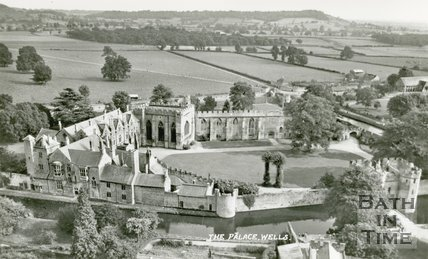 Wells, The Bishop's Palace, c.1950s