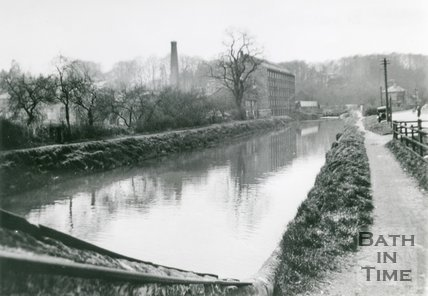 The Cut on the Avon Navigation, Weston, Bath, c.1935