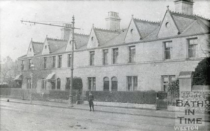 Augusta Place, Weston, Bath, c.1905