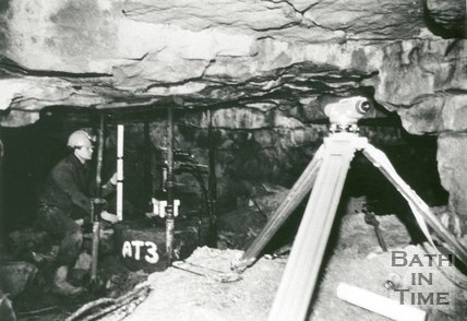 Combe Down Stone Mine, Bath, 1992