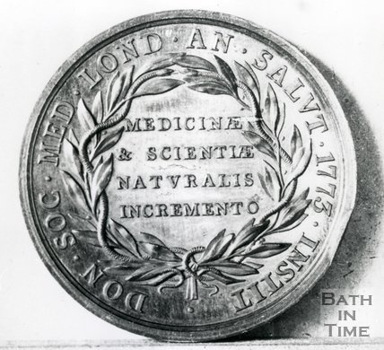Medal Presented To Dr James Fothergill, 1773