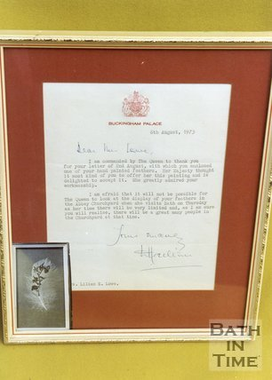 Her Majesty the Queen's letter to Lilian Lowe, 1992