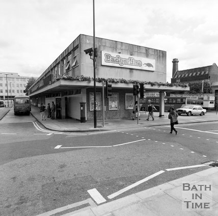 The old Bus Station, Southgate, Bath, c.1990