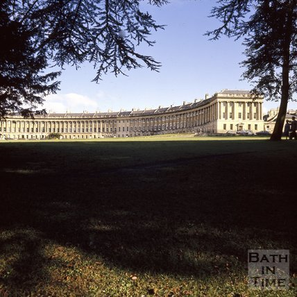 The Royal Crescent, Bath, c.1975