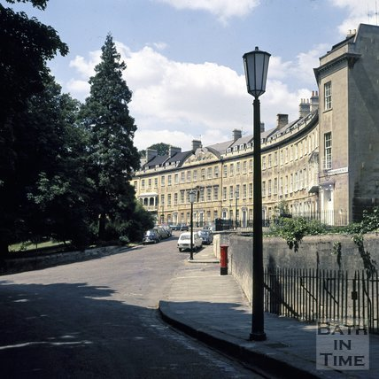 Somerset Place, Bath, c.1975
