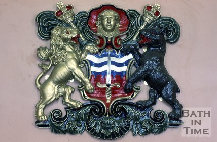 The Bath Coat of Arms, Council Chamber, Guildhall, Bath, c.1980