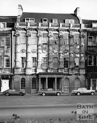 23 Grosvenor Place, the former hotel, c.1973