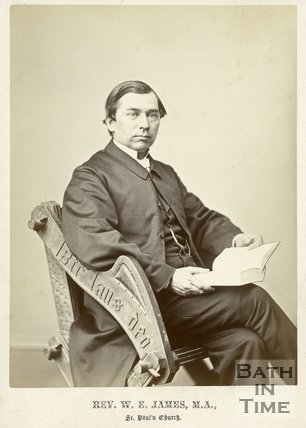 Portrait of Reverend W.E. James