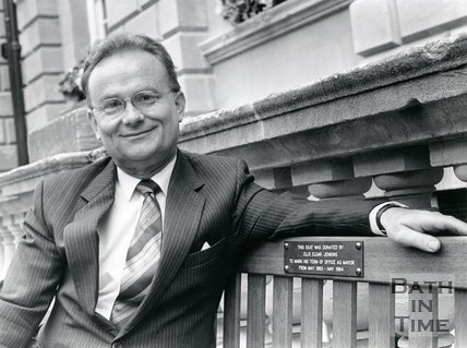 Photograph of Elgar Jenkins, 1986