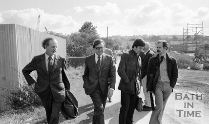 Green Park inquiry site inspection, Bath, 20 September 1979