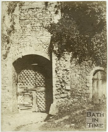 Chepstow Castle Gateway, Monmouthshire, c.1855