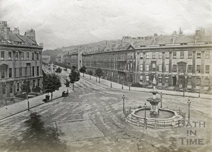Great Pulteney Street, Bath c.1890
