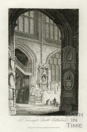 South Transept, Bath Cathedral (Abbey), Bath 1814