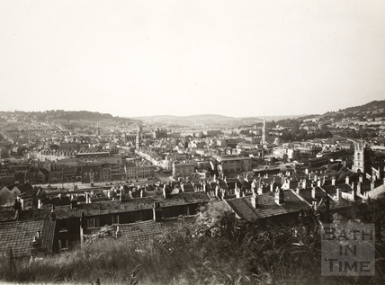 View of Bath from Beechen Cliff c.1930