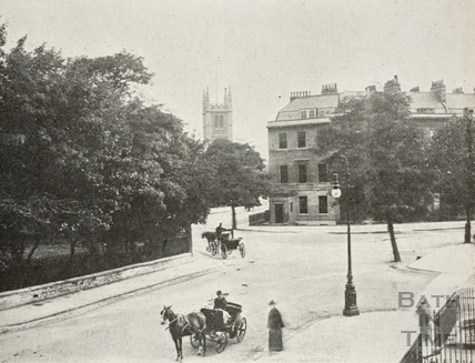 View from Sydney Place, Bath c.1890