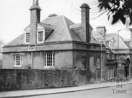 Claverton Lodge, Bathwick Hill, Bath 1975