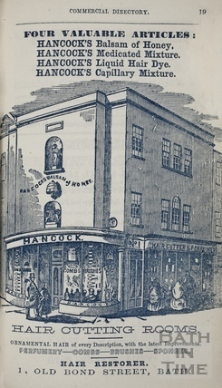 G. Hancock, 1, Old Bond Street, Bath 1860