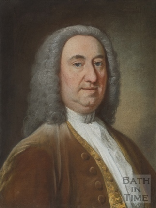 Richard Beau Nash in pastel
