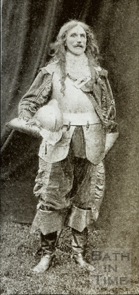Bath Historical Pageant. Episode 6. Captain Prowse as Basil Grenville July 1909