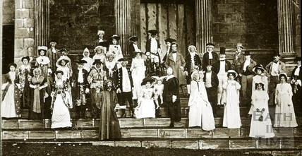Bath Historical Pageant. Literary Group July 1909