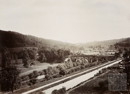 Avon Valley between Bathampton and Limpley Stoke c.1890