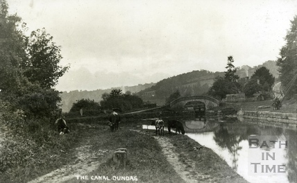 The Kennet and Avon Canal, Dundas c.1905