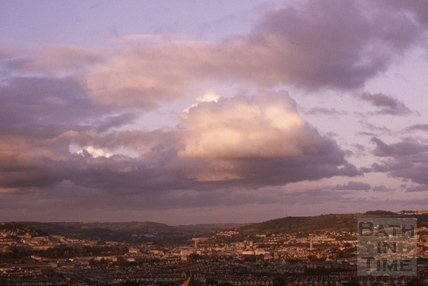 View of Bath from Twerton 1975