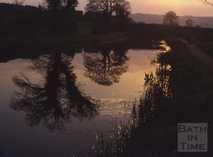 Kennet and Avon Canal, Bathampton 1977