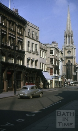 Cater's Stores, High Street and Northgate Street, Bath 1964
