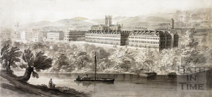 View of South Parade across the River Avon, Bath c.1780