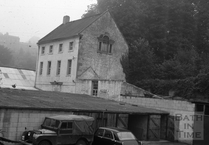 The Old Mill, Prior Park Road, Widcombe, Bath c.1966