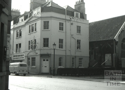 The Crispin Tavern/The Bell Inn, 6, Lower Borough Walls, Bath 1966