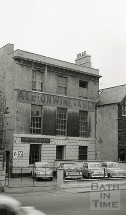 The Albion Brewery, Albion House, Upper Bristol Road, Bath 1965
