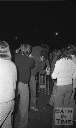 The Bay City Rollers at the Rec, Bath, 29 June 1974