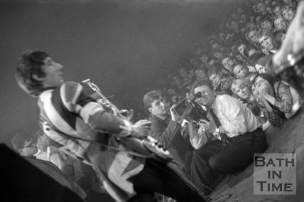 The Who performing live at the Pavilion, Bath, 10 November 1966