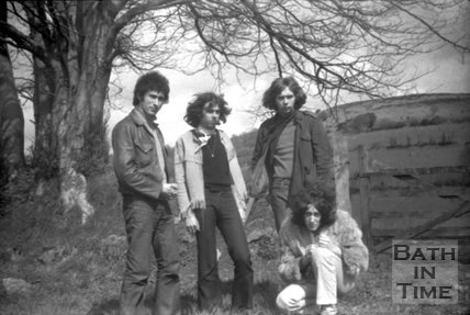 The Mirror pop group in Bath, c.1970