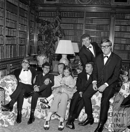 Freddie and the Dreamers with Lord Bath at Longleat, 15 August 1965