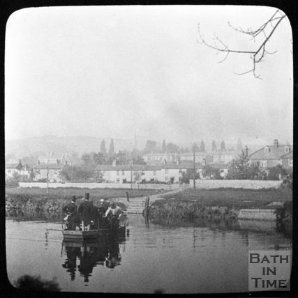 The Twerton Ferry, Bath, c.1880