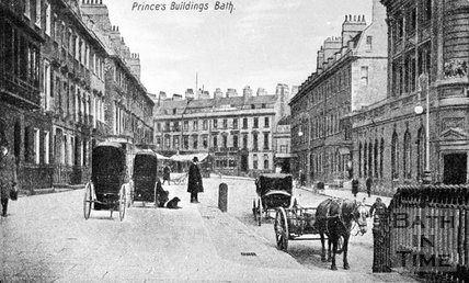 Prince's Buildings, George Street, Bath, c.1900