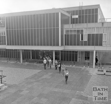 University of Bath Library Move, 11 February 1971
