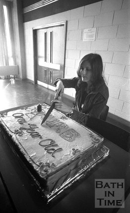 University of Bath Radio Birthday Cake, May 14 1974