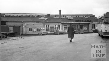 Frome Railway Station, 20 January 1971