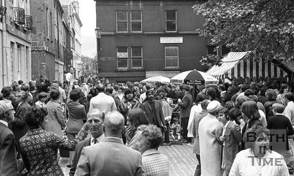 Mardi Gras at Abbey Green, Bath, 5 June 1971